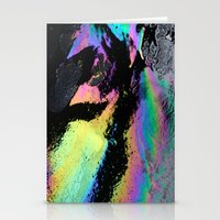 Water and Oil Stationery Cards