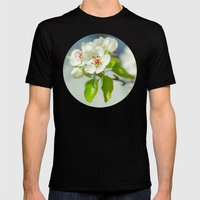 Spring Mens Fitted Tee Black SMALL