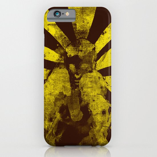 distressed  boxer iPhone & iPod Case
