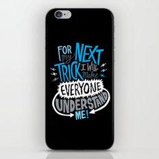 My Next Trick iPhone & iPod Skin