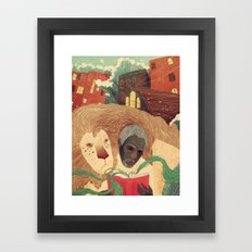 To Be Read Aloud Framed Art Print