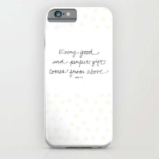 Every good + perfect gift iPhone & iPod Case