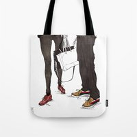 Mismatched, But Not Inco… Tote Bag