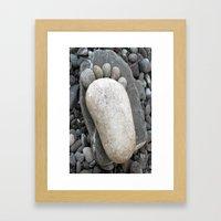 piedino Framed Art Print