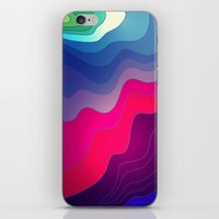 BLURRED LINES iPhone & iPod Skin
