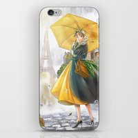 Bonjour Paris! iPhone & iPod Skin