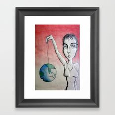 Slipping Away Framed Art Print