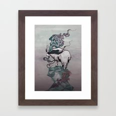 Seeking New Heights Framed Art Print