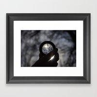 Focus On The Sunlight Framed Art Print