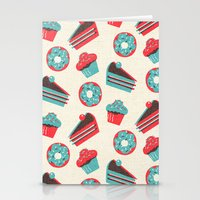 happy birthday Stationery Cards featuring happy birthday  by marella