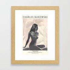 Bukowski - Women Framed Art Print