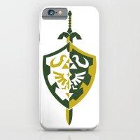 zelda iPhone & iPod Cases featuring Zelda by Brandon Riesgo