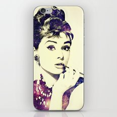 Cosmic Audrey iPhone & iPod Skin