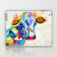 Colorful Cow Art Laptop & iPad Skin