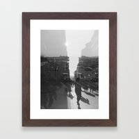 fashion quay Framed Art Print