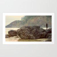 Just Fishing Art Print