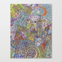 Ostara Canvas Print