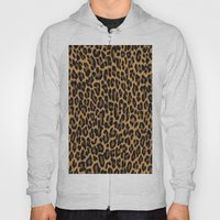 African Leopard Glamour Hoody
