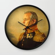 Wall Clock featuring Bill Murray - Replacefac… by Replaceface