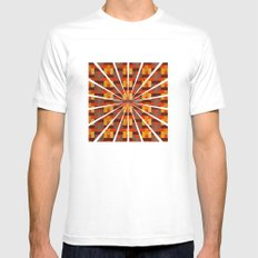 Woven Pixels I Mens Fitted Tee SMALL White