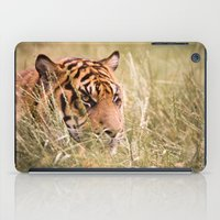 Tiger In The Grass iPad Case
