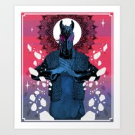 Art Print featuring Behold Your King - MEGA … by Lokhaan