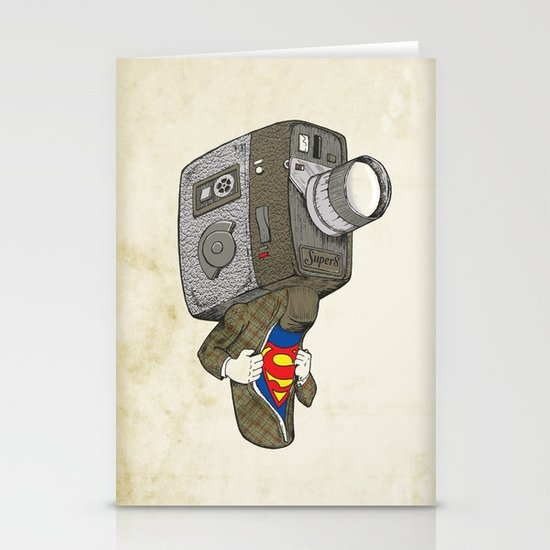 Super8 Stationery Card