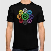 Living In Colour Mens Fitted Tee Black SMALL