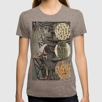 Collage No.52 Womens Fitted Tee Tri-Coffee SMALL