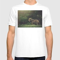 Bad Wolf Mens Fitted Tee White SMALL