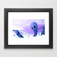 Just Like Paradise Framed Art Print