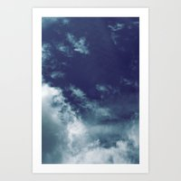 Dreamy Clouds I Art Print