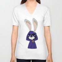 Bunny Raven Unisex V-Neck