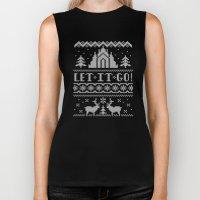 Let It Go Sweater Biker Tank
