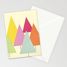 Fir Trees Stationery Cards