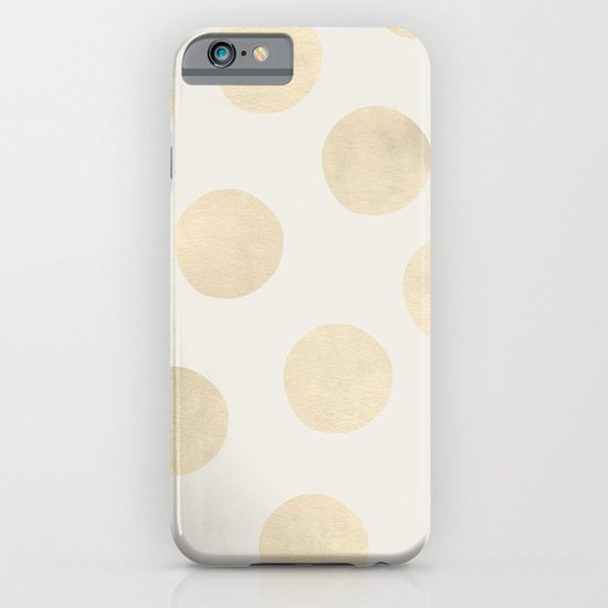 Gold Polka Dots iPhone & iPod Case