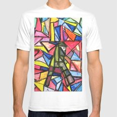 THE FARMER SMALL White Mens Fitted Tee