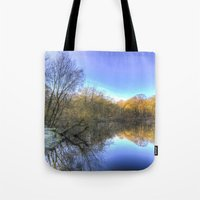Early Morning Forest Pon… Tote Bag