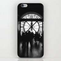 PARIS IV - CLOCK iPhone & iPod Skin