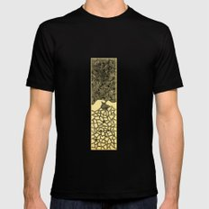- 7_03 - Mens Fitted Tee Black SMALL