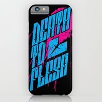 iPhone & iPod Case featuring Death to Flesh by 1Name Design