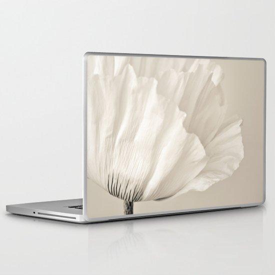 cream Laptop & iPad Skin