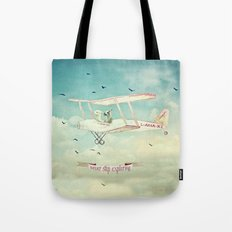 Never Stop Exploring III Tote Bag