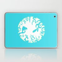 Abstractly Blue  Laptop & iPad Skin