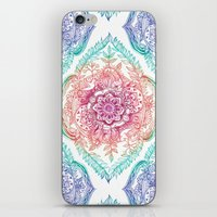 Indian Ink - Rainbow Ver… iPhone & iPod Skin