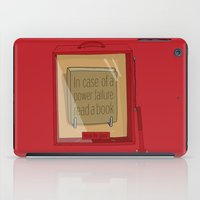 In case of a power failure: read a book iPad Case