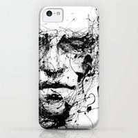 iPhone 5c Cases featuring lines hold the memories by agnes-cecile