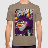 Color Husky (Feat. Bryan… Mens Fitted Tee Tri-Coffee SMALL