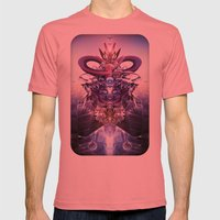 Overseer Mens Fitted Tee Pomegranate SMALL