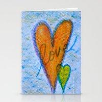 Crayon Love - Crayon Bomb Stationery Cards